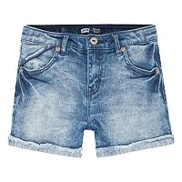 Girls 7-16 Levi's Scarlet Cutoff Cuffed Shortie Shorts
