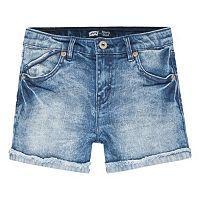 Girls 7-16 Levi's Scarlet Cutoff Cuffed Shortie Shorts