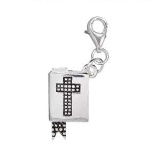 Individuality Beads Sterling Silver Bible Charm