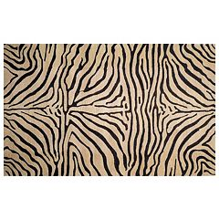 Liora Manne Seville Zebra Wool Rug