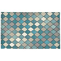 Trans Ocean Imports Liora Manne Seville Diamond Wool Rug