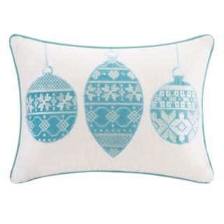 Madison Park Velvet Ornament Throw Pillow
