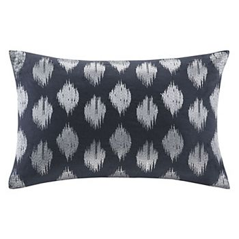 INK+IVY Konya Embroidered Oblong Pillow