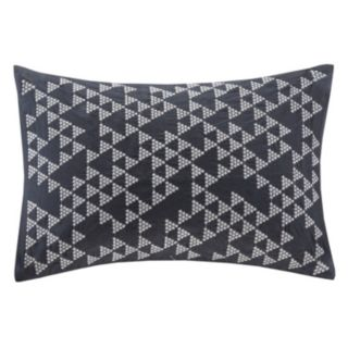 INK+IVY Thea Embroidered Throw Pillow