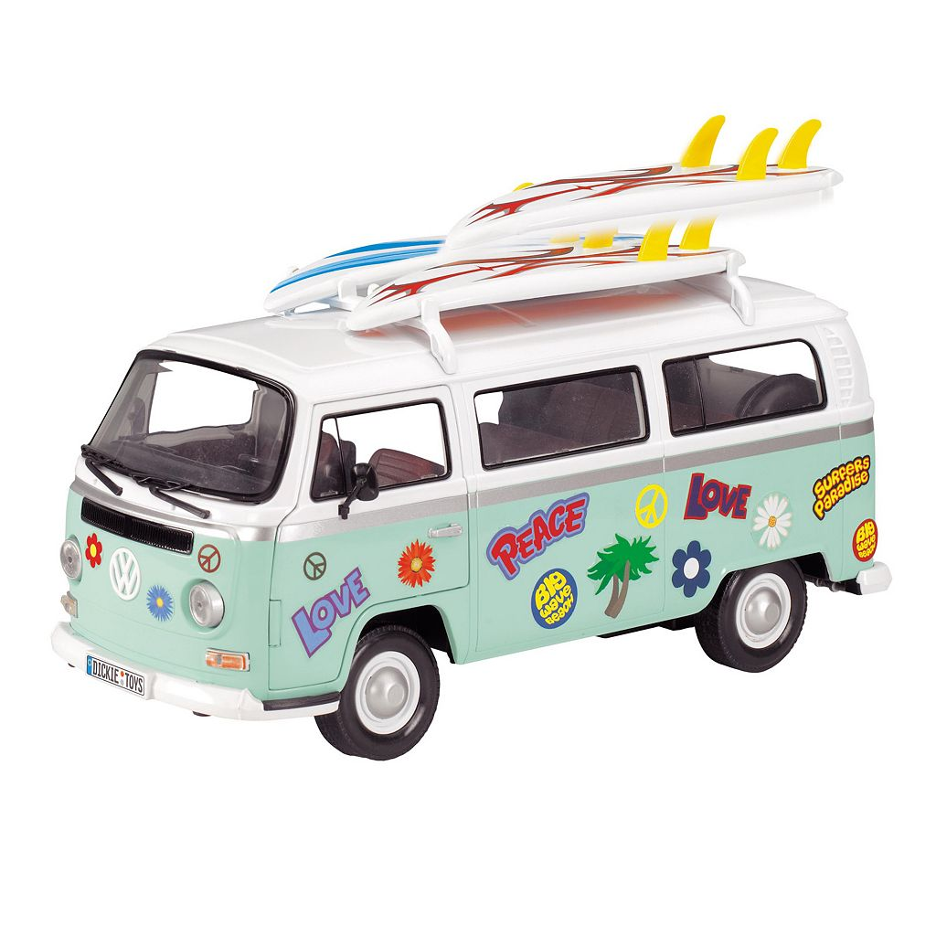 Dickie Toys 13-in. VW Surfer Van 1/14 Scale