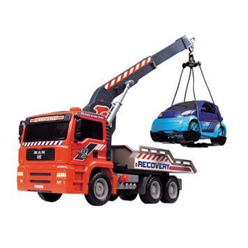 Dickie Toys 12-in. Air Pump Crane Truck