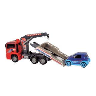 Dickie Toys 12-in. Air Pump Crane Truck