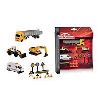 Dickie Toys Majorette Construction Theme Set
