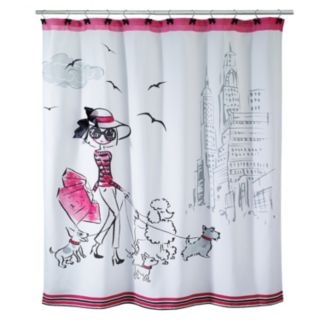 Avanti Chloe Shopping Shower Curtain