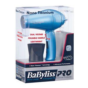 BaByliss Pro Nano Titanium Travel Hair Dryer