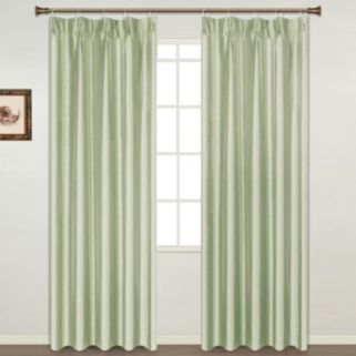 United Window Curtain Co. Anna Pinch-Pleat 2-pack Window Curtains