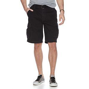 Men's Unionbay Survivor Belted Cargo Shorts