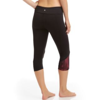 Women's Bally Total Fitness Capri Workout Leggings