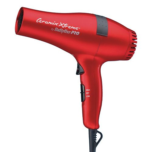 BaByliss Pro Ceramix Xtreme Red Hair Dryer