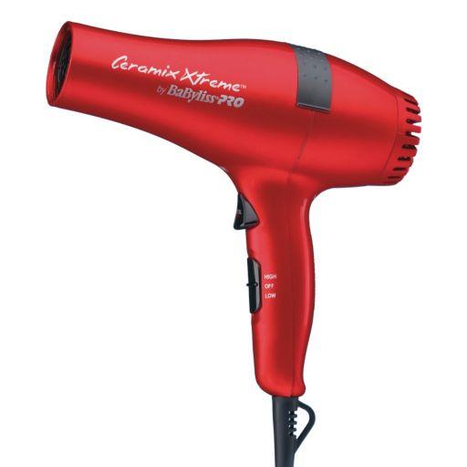 BaByliss Pro Ceramix Xtreme Red Hair Dryer