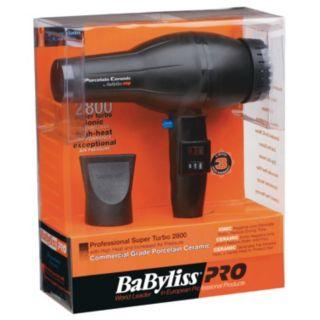 BaByliss Pro Porcelain Ceramic 2800 Hair Dryer