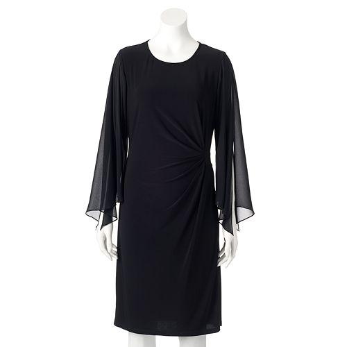 Women S Msk Pleated Shift Dress