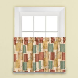Tranquility Tiered Window Curtains