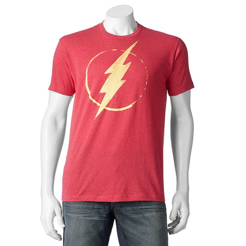 Men's DC Comics The Flash Logo Tee
