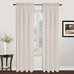 United Curtain Co. 1-Panel Metro Window Curtains
