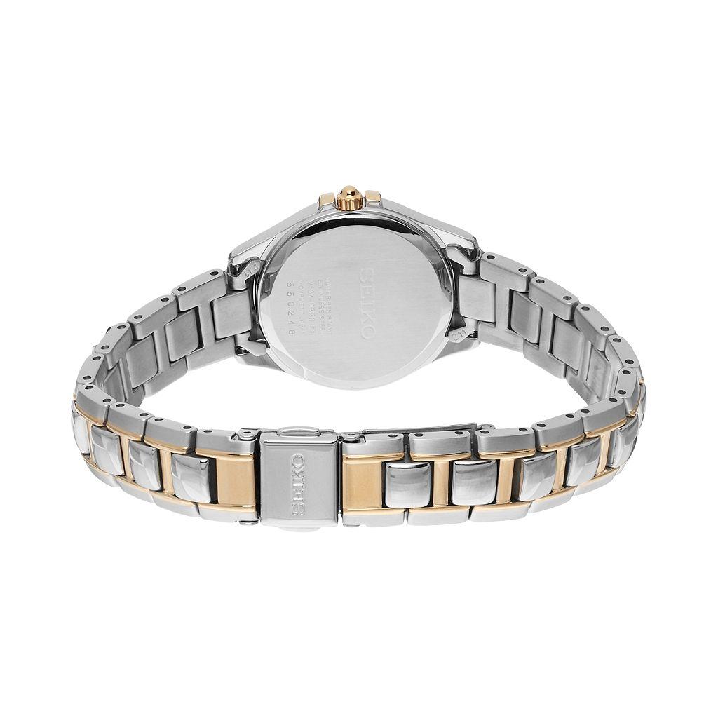 Seiko Women's Core Stainless Steel Solar Watch