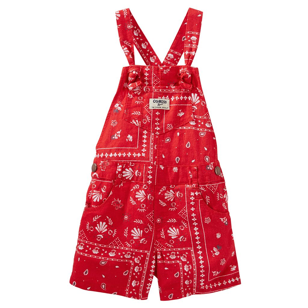 Toddler Girl OshKosh B'gosh® Bandana Shortalls