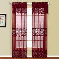 United Curtain Co. Valerie 2-pk. Curtains