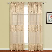 United Curtain Co. Valerie Window Curtain Set