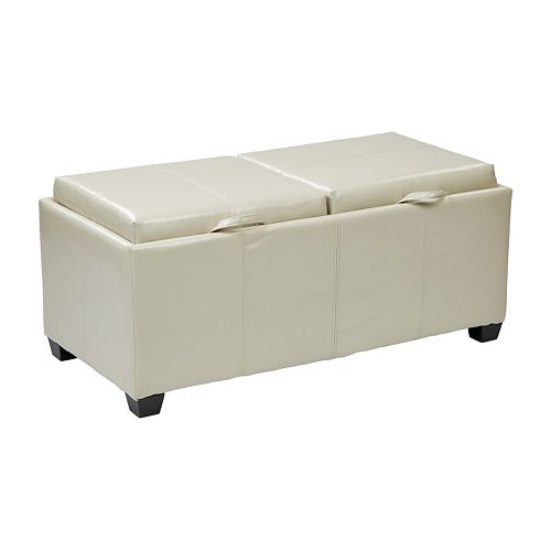 INSPIRED by Bassett Bedford Storage Ottoman