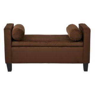 INSPIRED by Bassett Cordoba Storage Bench