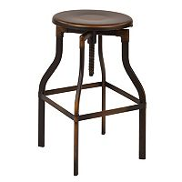 OSP Designs Eastvale 30-in. Backless Metal Barstool