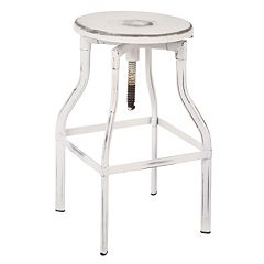 OSP Designs Eastvale 30 in Backless Metal Barstool