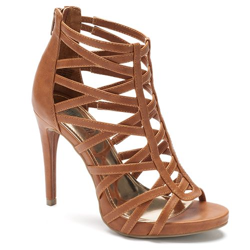 Jennifer Lopez Women's High Heel Gladiator Sandals