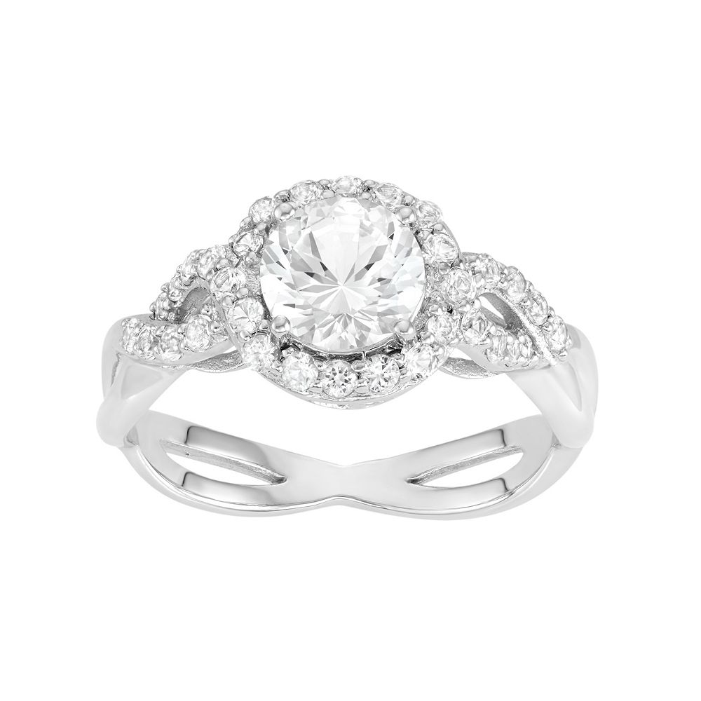 dsc by engagement white round fold created solitaire bezel sapphire nodeform ring lab products semi