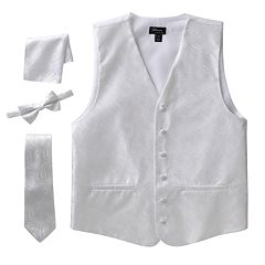 Steven Land Paisley 4-pc. Vest Set - Men