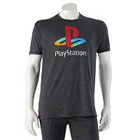 Men's Distressed Playstation Tee