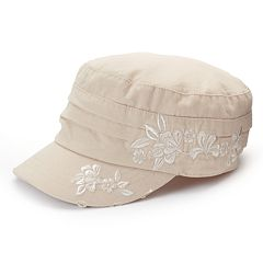 Women's Peter Grimm Wahine Floral Distressed Cadet Hat