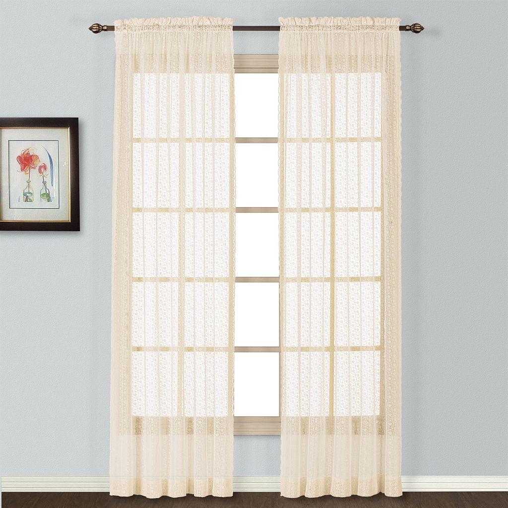 United Window Curtain Co. Charlotte Lace Window Panel