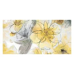 ''Pretty in Yellow'' Wall Art