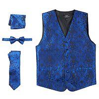 Men's Steven Land Paisley 4-pc. Vest Set