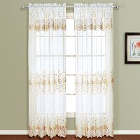 United Curtain Co. 2-pack Marianna Window Curtains