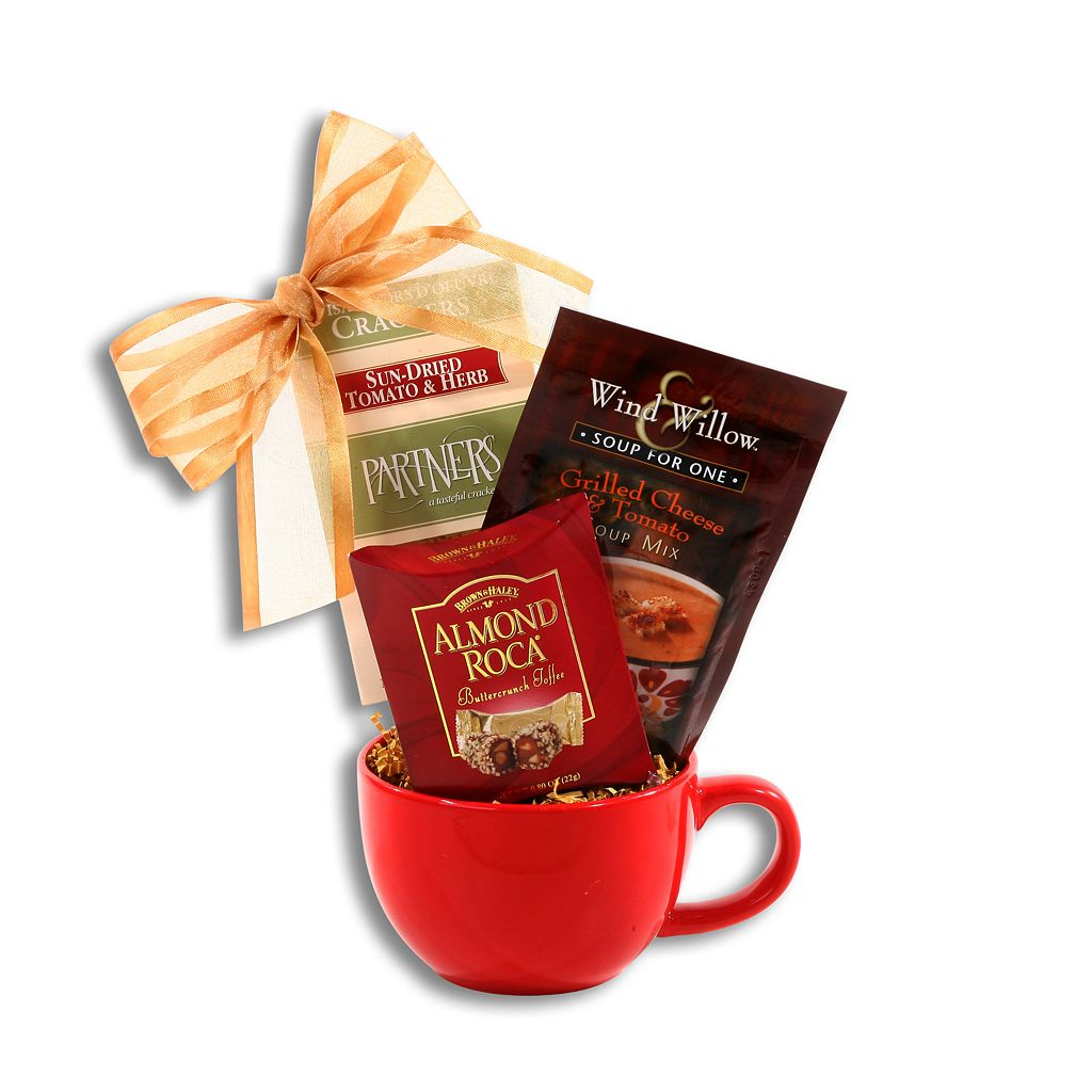 Alder Creek Delightful Cup of Warmth Mug Gift Basket