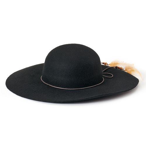 Women's Peter Grimm Delia Wool Floppy Hat