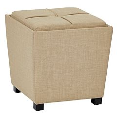 OSP Designs 2 pc Milford Ottoman Set