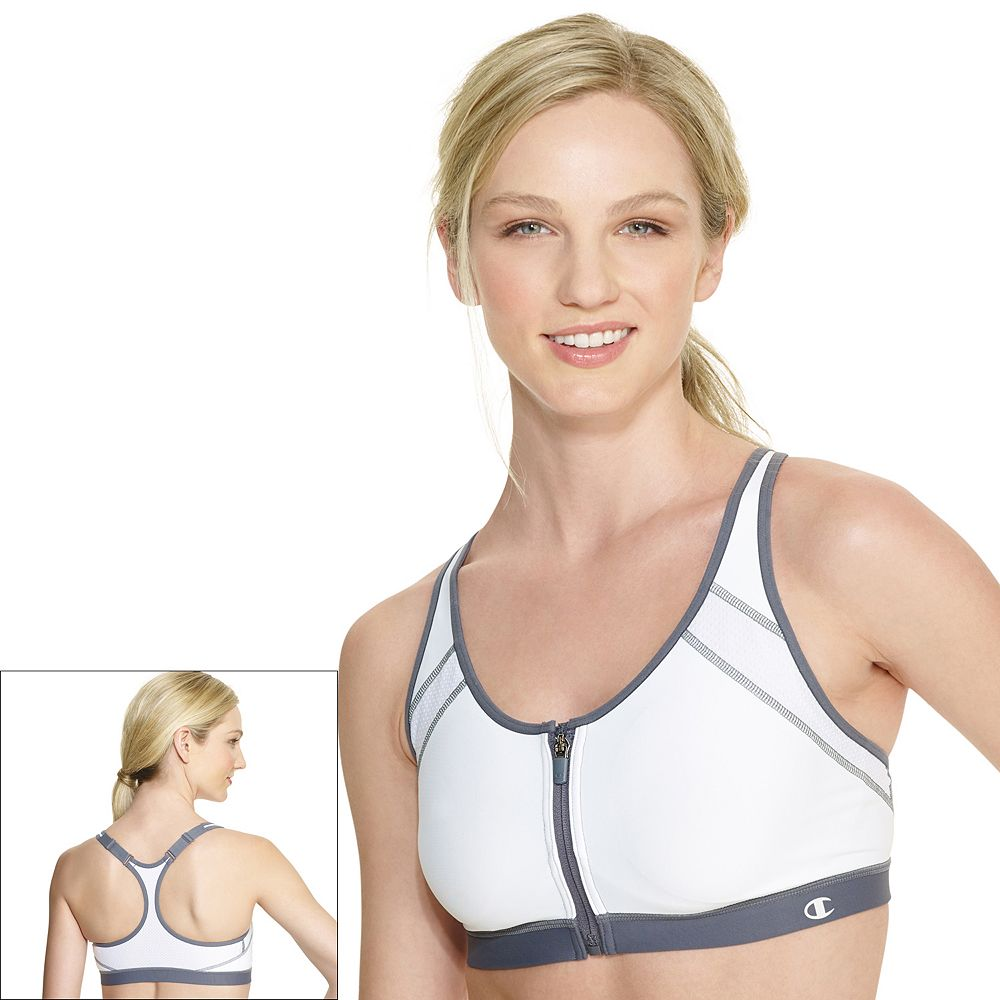 Sports Bra: The Zip Front-Close High-Impact B7920
