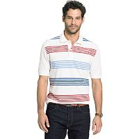 Big & Tall Arrow Classic-Fit Multi-Bar Striped Polo