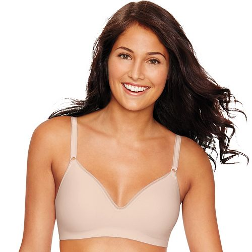 fb5127ec548 Hanes Ultimate Bra  Smooth Inside   Out Foam Wire-Free Convertible T-Shirt  Bra HU05