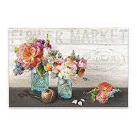 ''French Cottage Bouquet III'' Wall Art