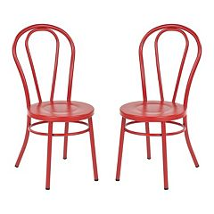 Ave Six Odessa Metal Dining Chair 2-piece Set