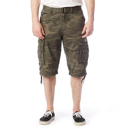518ea94a66 Men's Unionbay Cordova Messenger Belted Cargo Shorts